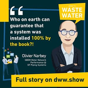 You never install a water network 100% by the book. Reality reduces performance