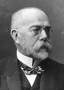 One of the most influential person in the water industry: Robert Koch