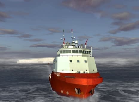 Dassault Systemes modeled an Iceberg Tow to provide Iceberg Water to Canaria