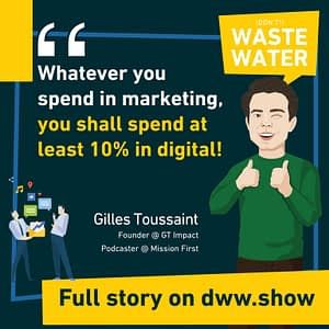 Growth Recipe: whatever you spend in marketing, spend at least 10% in digital