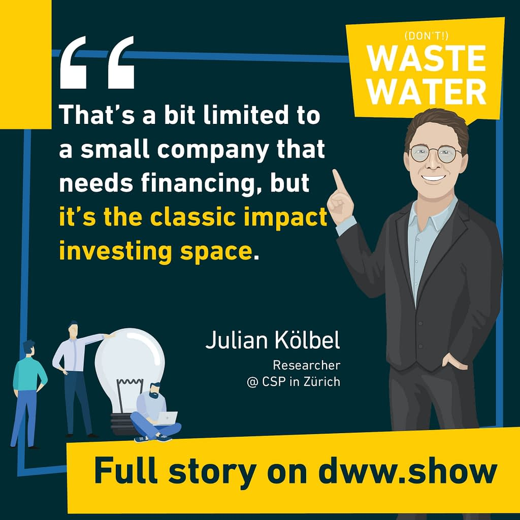 This access to finance is a classic impact investing space, limited to small companies though.