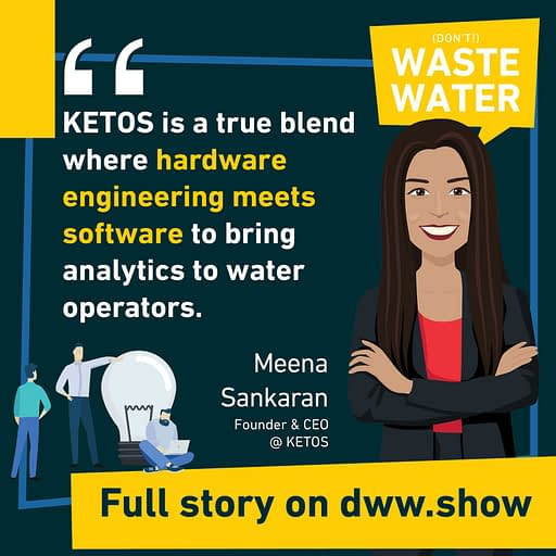 KETOS is a blend of hardware and software to bring Water Quality to operators.