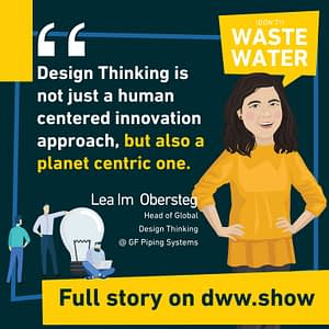 Design Thinking is not just a human centered innovation approach, but also a planet centric one.