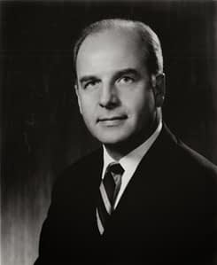 Quite an influential person: Gaylord Nelson, US Senator.