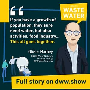 More population means more water needs, and an even higher urgency to improve water network performance