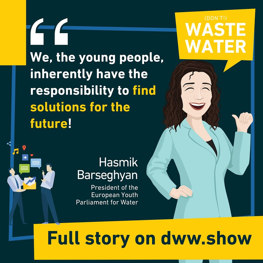 Young Generations need to find solutions for the future, thinks Hasmik Barseghyan