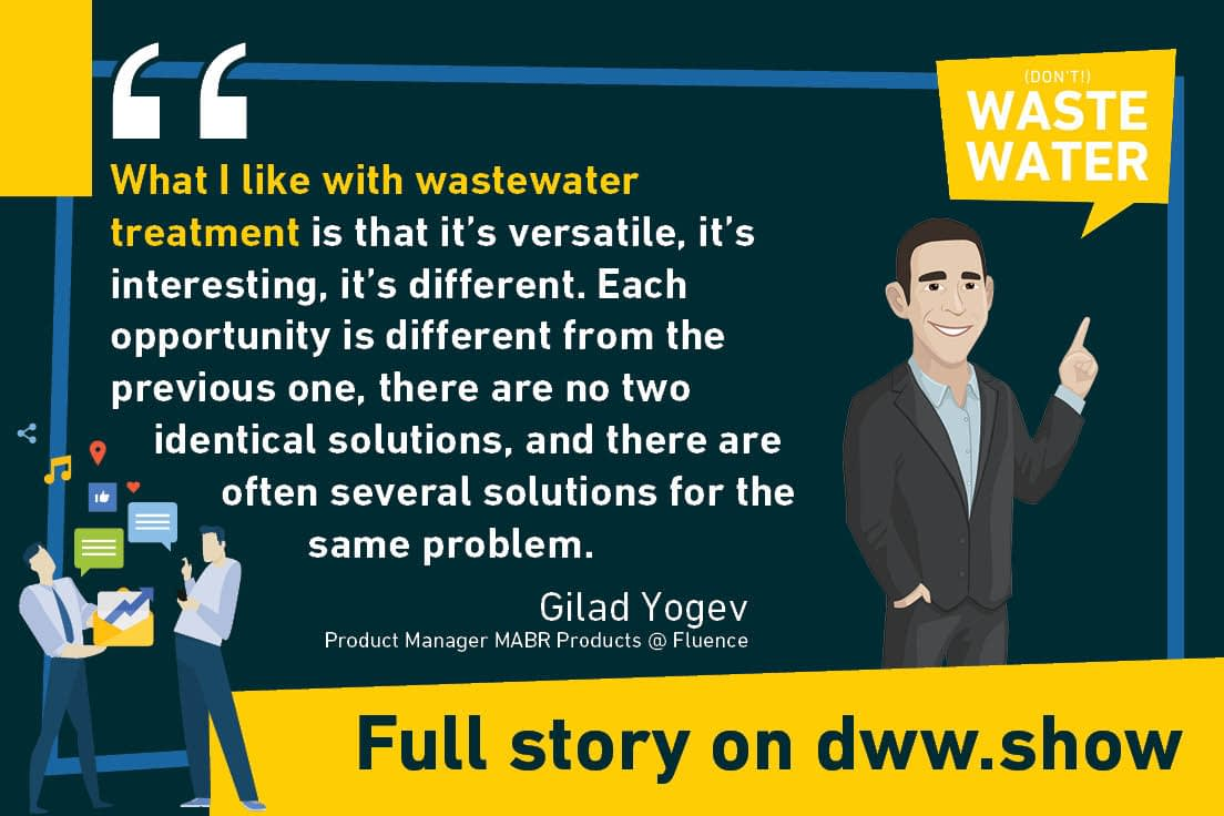 Wastewater Treatment is a fascinating field, where MABR is one of the possible technologies. But you always have to be creative as multiple solutions can solve the same problem!