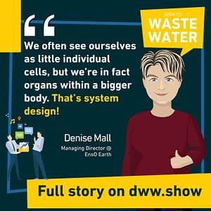 We're not individual cells, we're organs of a bigger body, estimates the Managing Director of EnsO Earth