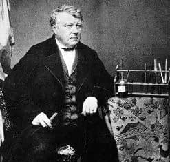 Christian Friedrich Schönbein is often coined as the father of ozone water treatment.