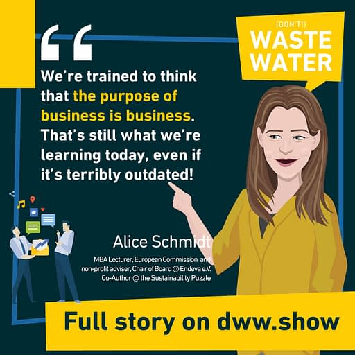 We're learning outdated business concepts, thinks Alice Schmidt - who knows it well as a BA and MBA lecturer.