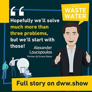 Sciens Water aims to solve more than just 3 challenges of the US Water Sector