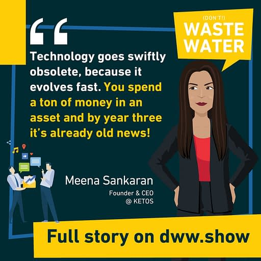 In this time and age, technologies become fast obsolete - hence KETOS' move to Water Quality as a service.