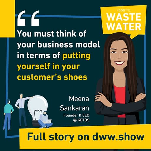 You must think of your business model in terms of putting yourself in your customer's shoes