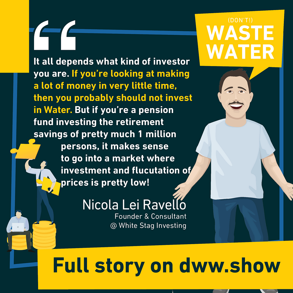 Can you make terrible money fast in water investment? Probably not, Venture Capital isn't really water compatible. But still, there's a way, as Nicola Lei Ravello reveals.