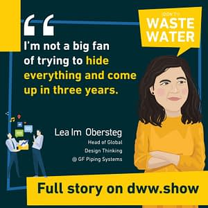 As an Innovation Specialist, Lea im Obersteg is not a big fan of trying to hide everything and come up in three years.