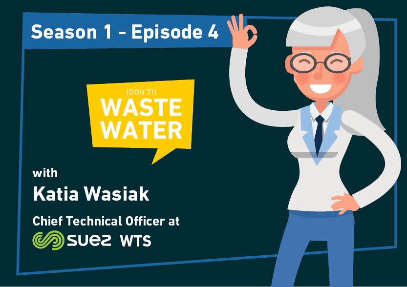 Katia Wasiak - Guest of the Don't Waste Water Podcast