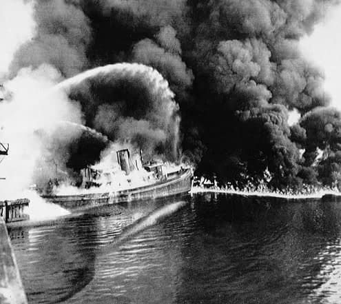The Cuyahoga River took fire 12 times according to history books!