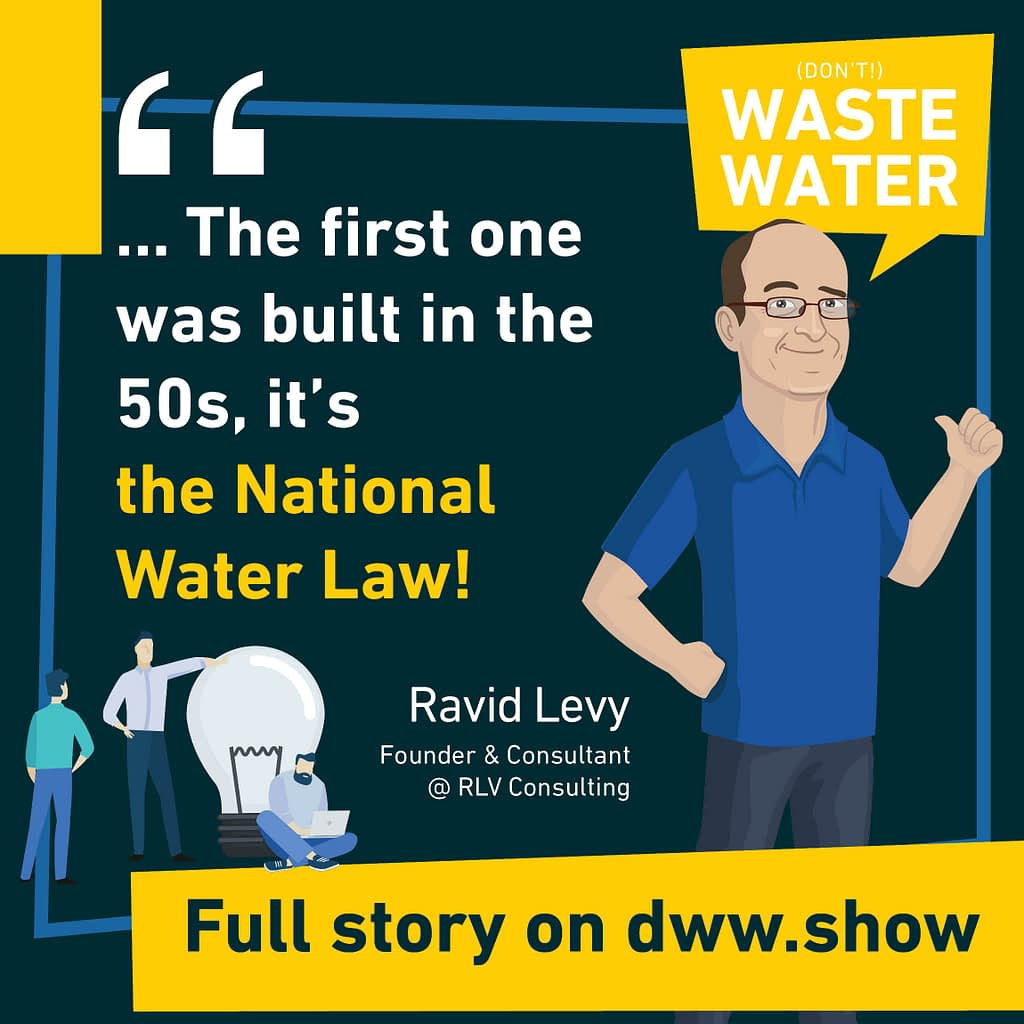 The first pillar of Israel's Water Miracle was built in the 1950s. It is the National Water Law.