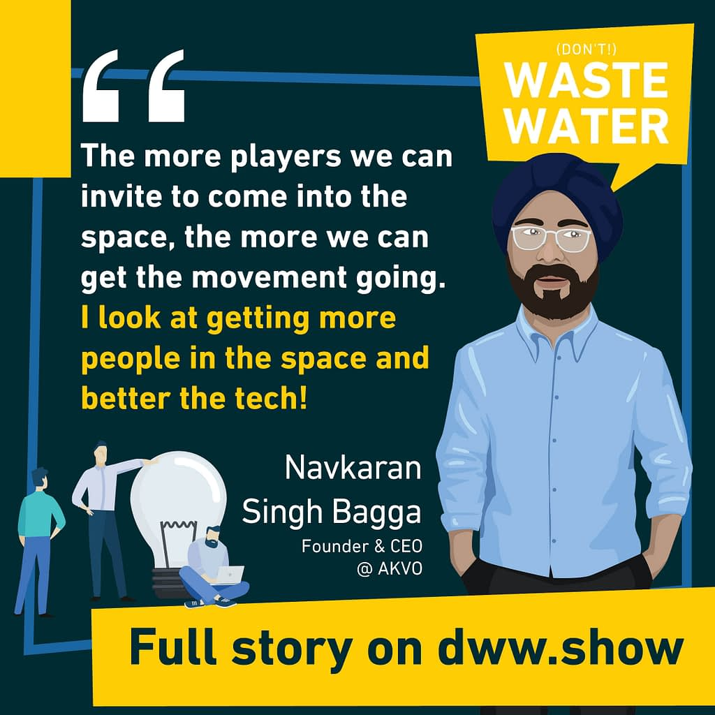 Competition is a blessing, in a new field such as atmospheric water generation. This is Navkaran Singh Bagga's conviction!