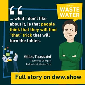 """What Gilles Toussaint does not like about growth hacking, is that it looks for """"the"""" trick."""