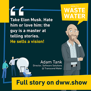 How do you tell better stories in the water industry?