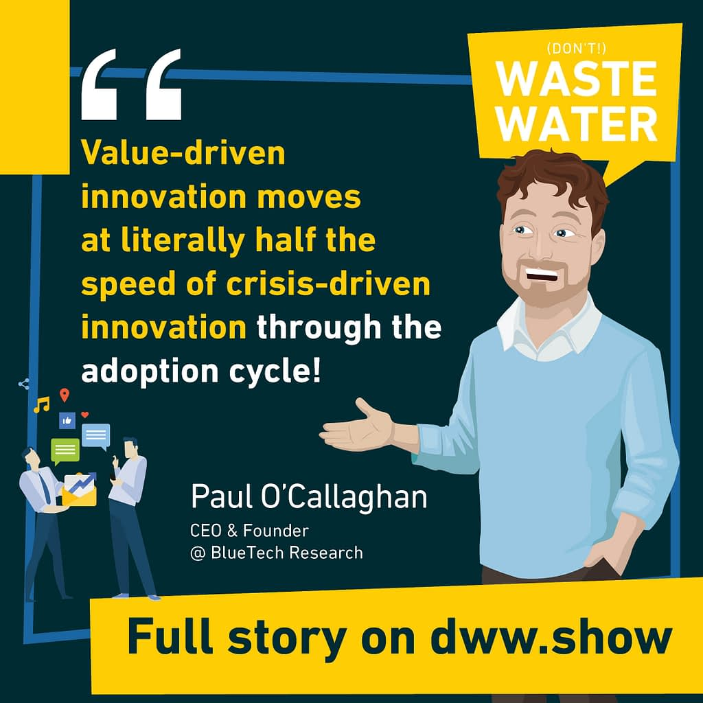 Value-Driven Water Innovations move at half the speed of Crisis-Driven Water Innovation