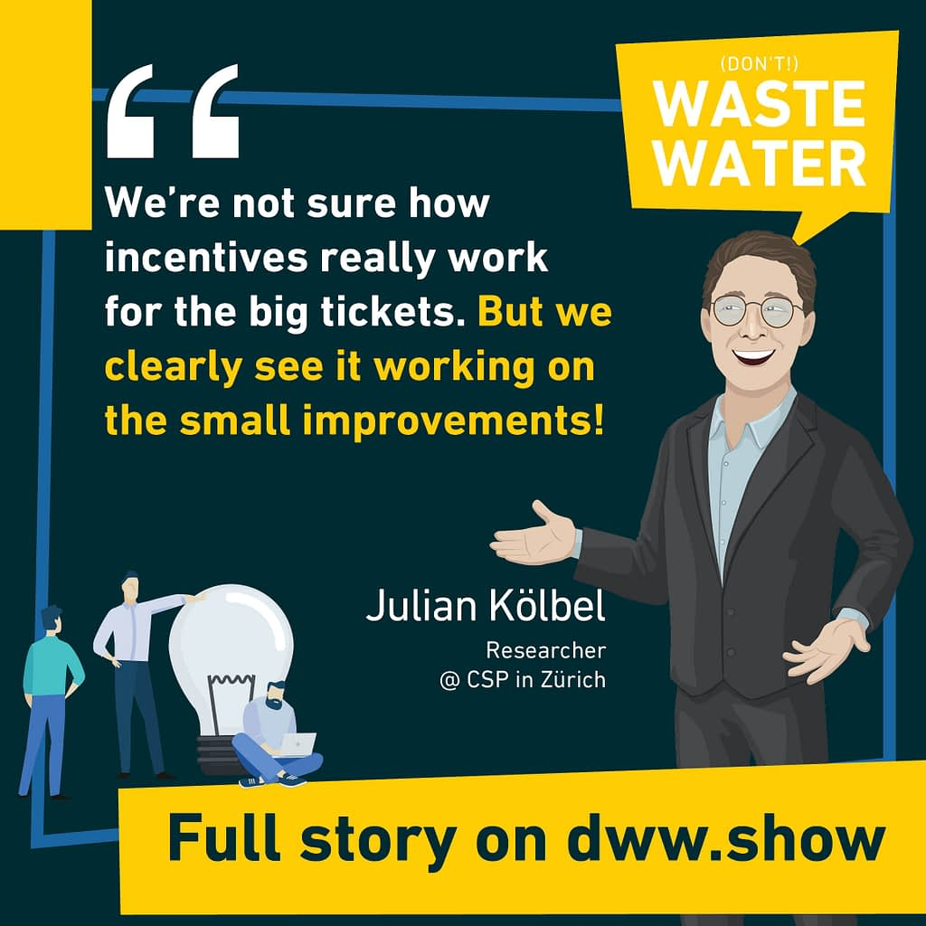 Incentives work differently on big tickets. Step by step is the way, according to Julian Kölbel
