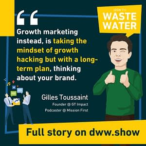 Growth Marketing takes the mindset of growth hacking, but with a long-term plan