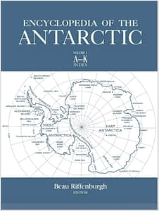 The encyclopedia of the antarctic reports how Iceberg Water was used in Chile