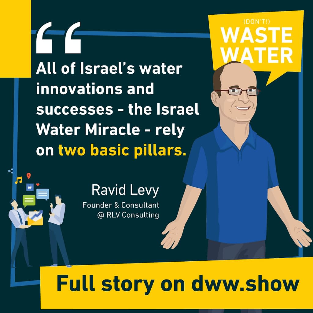 All of Israel's water innovations and successes - the Israel Water Miracle - rely on two basic pillars.