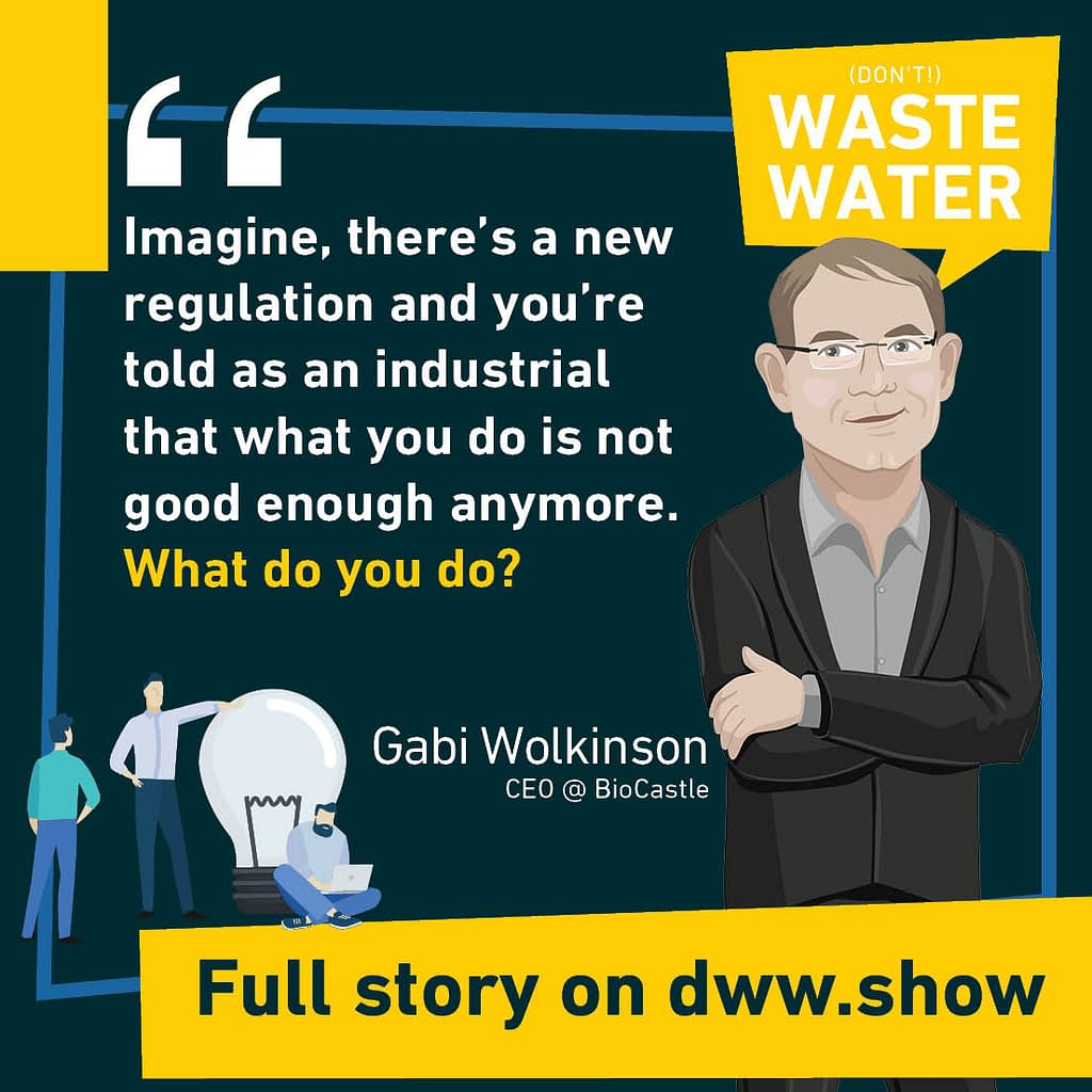 Microbial Encapsulation may be a safeguard against disruption! Gabi Wolkinson - CEO of BioCastle.