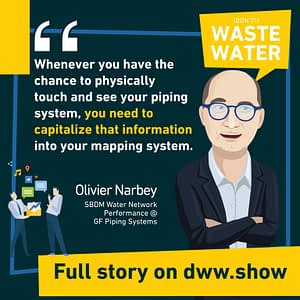 Gather information on your network as often as possible: that way, you will be able to reduce non-revenue water.