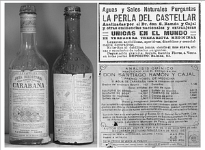 Bottled Water Old Ad