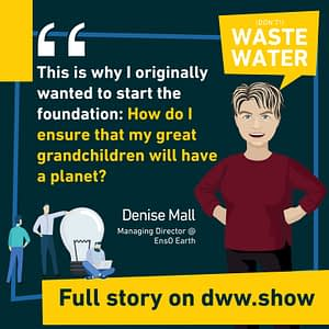 Denise Mall's motivation: ensuring her grandchildren will have a planet to live on