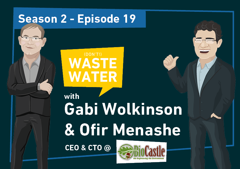 Gabi Wolkinson and Ofir Menashe - Guests of the Don't Waste Water Podcast