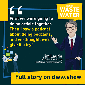 Telling water stories could have been an article but it became a podcast!