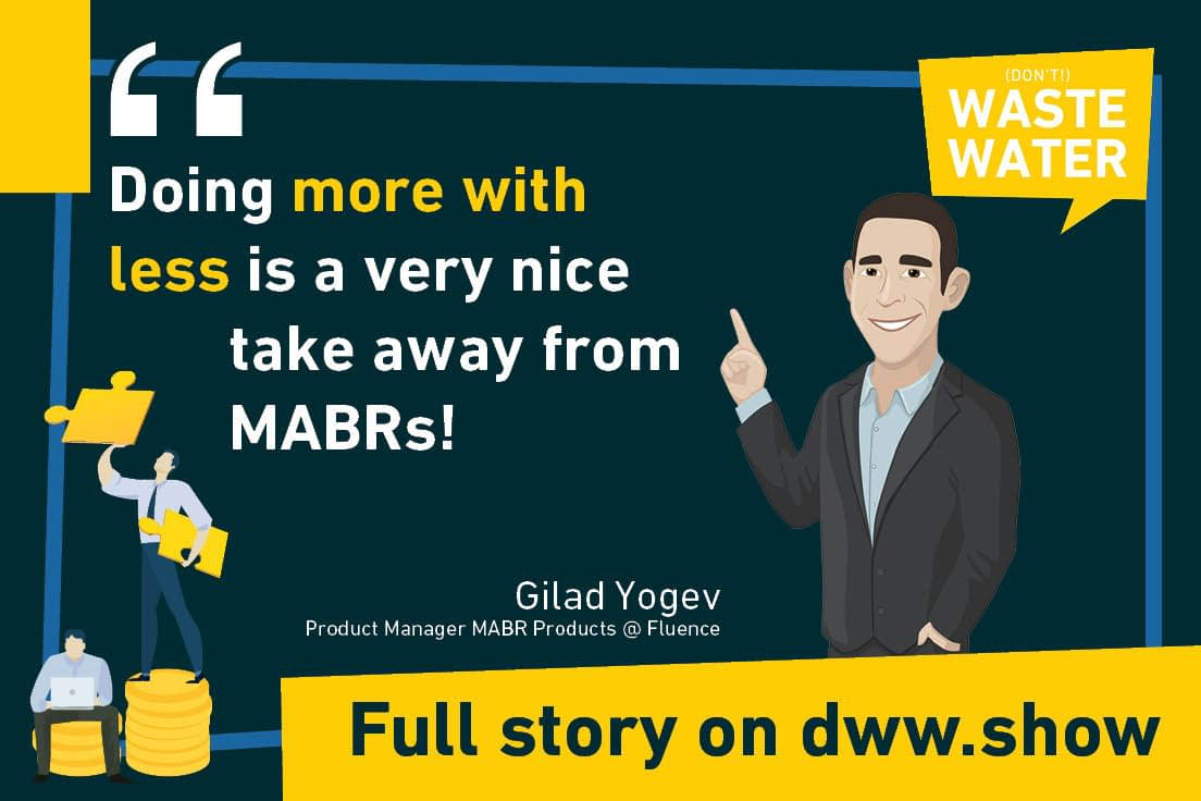 Doing more with less is a very nice take away from MABRs as Gilad Yogev, product manager at Fluence, says.