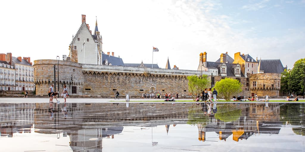 Nantes, Olivier Narbey's postcard and recommendation