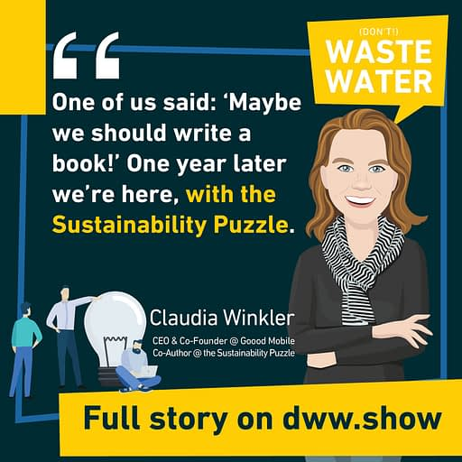 so Alice Schmidt and Claudia Winkler decided to write the Sustainability Puzzle book.