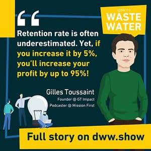A 5% increase in retention rate triggers up to 95% more profit - growth tip.